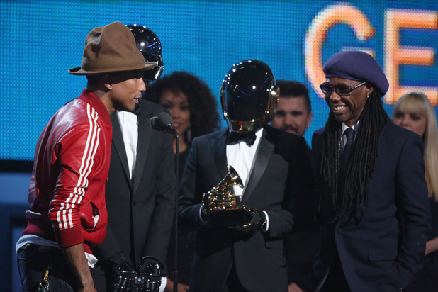 Daft Punk, Pharrell Williams and Nile Rodgers