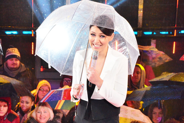 Emma Willis at the Celebrity Big Brother Final