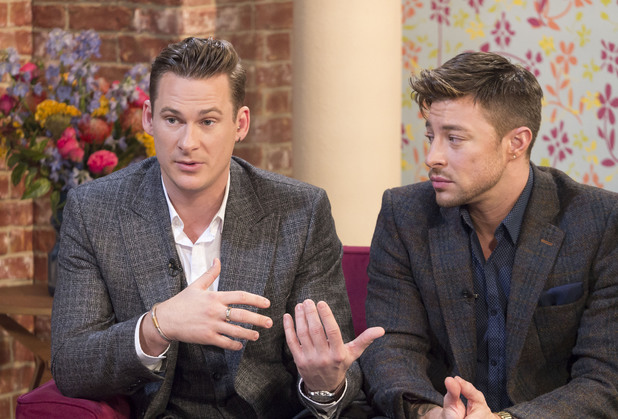 'This Morning' TV Programme, London, Britain - 29 Jan 2014Lee Ryan, Duncan James, Simon Webbe and Antony Costa 29 Jan 2014