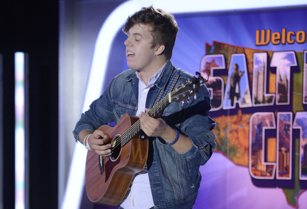 American Idol XIII: Salt Lake City Auditions - Contestant Alex Preston