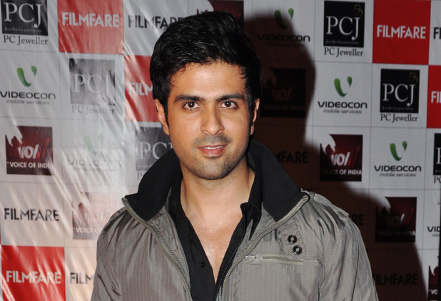 Harman Baweja arrives at the Film Fare Awards in Mumbai