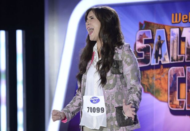 American Idol XIII: Salt Lake City Auditions - Contestant Paisley Van Patten