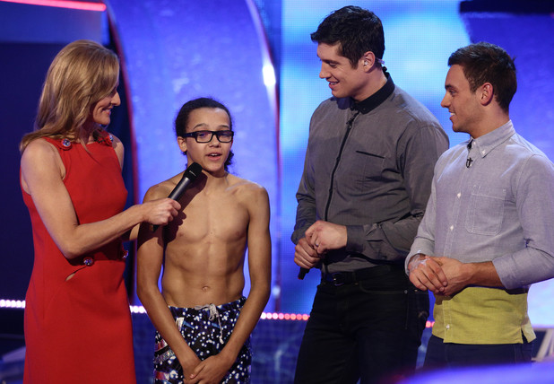 Perri receives the judges scores.