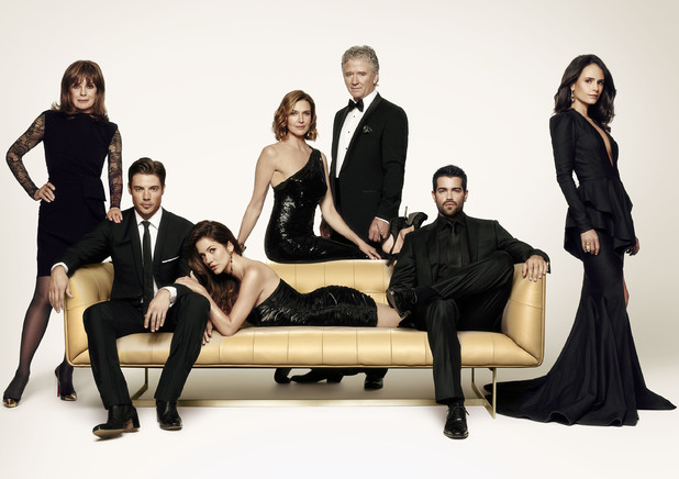 The cast of Dallas Season 3