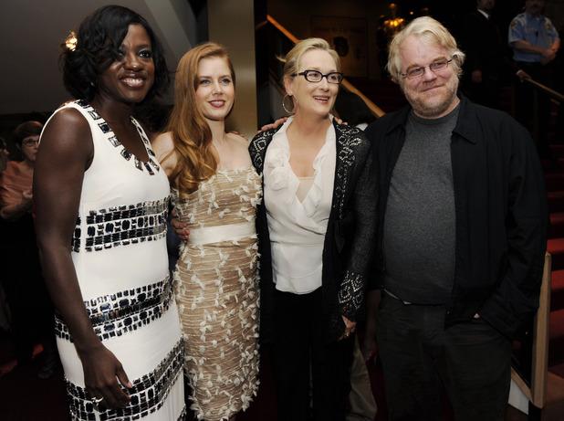 Viola Davis, Amy Adams, Meryl Streep and Philip Seymour Hoffman