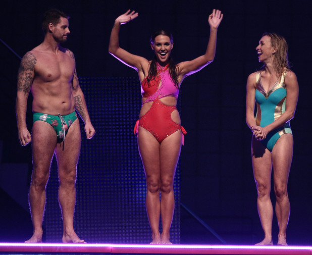 Danielle Lloyd leaves the competition