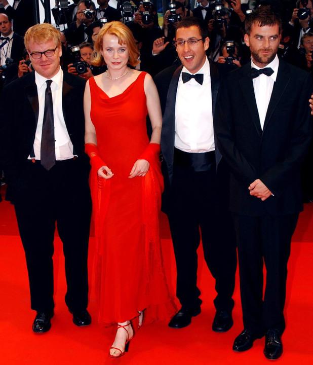 Philip Seymour Hoffman,  Emily Watson, Adam Sandler and Director Paul Thomas Anderson