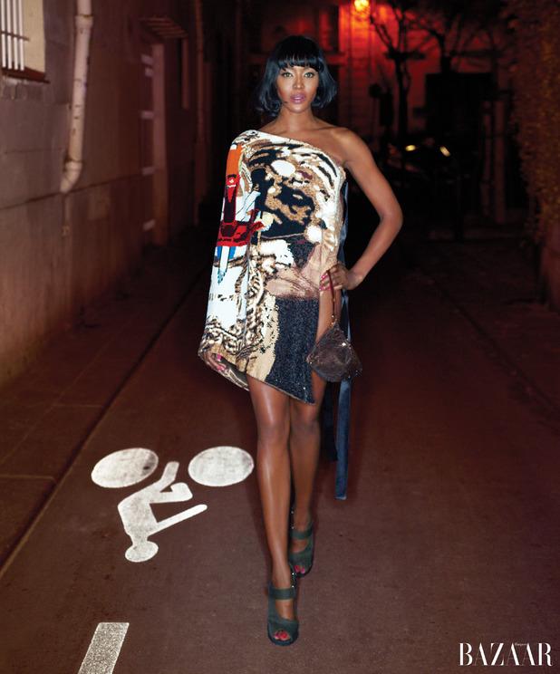 Harper's Bazaar, Naomi Campbell