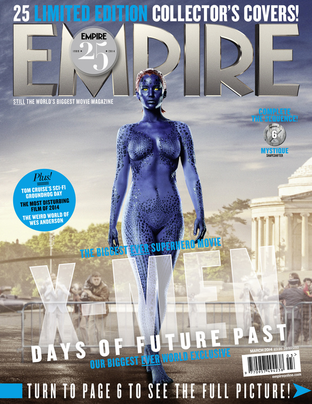 X-Men Days of Future Past Empire 25 anniversary cover