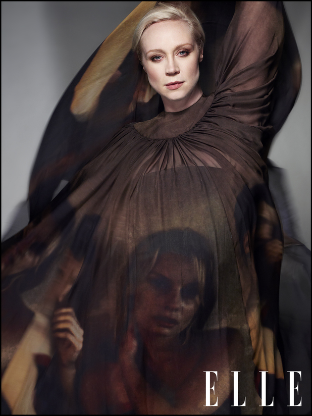 Gwendoline Christie in Elle UK