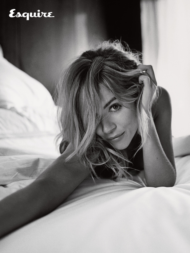 Sienna Miller in Esquire magazine