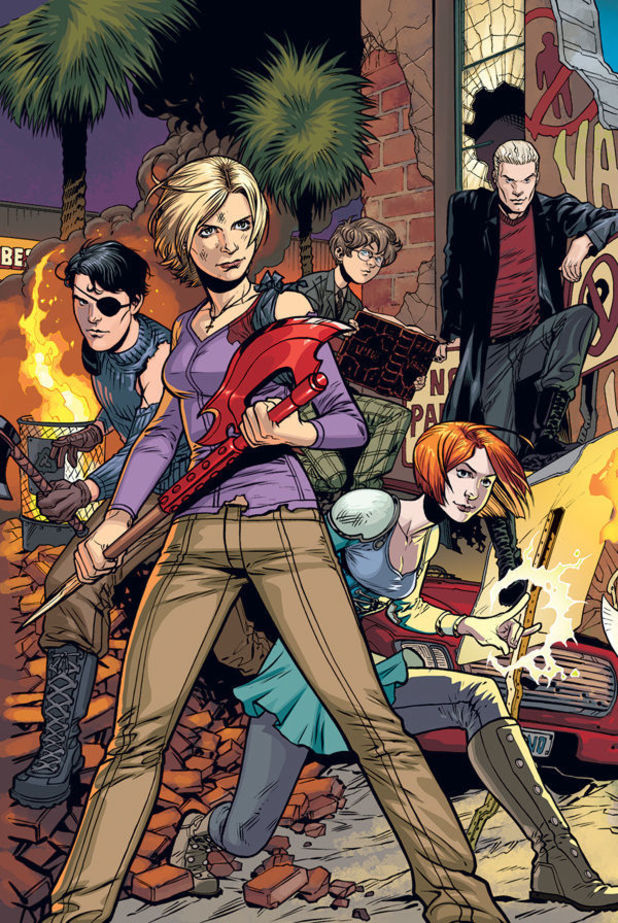 Buffy the Vampire Season 10 #1