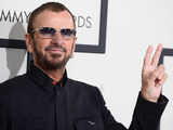 Ringo Starr arriving at the 56th annual Grammy Awards