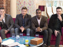 "Blue singer Simon Webbe tells DS that Ryan's love triangle was ""manipulate[d]""."