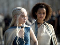 The two clips see Bronn console Shae and Missandei comfort Daenerys.