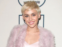Miley Cyrus appears in a short snippet of a Beatles anthem cover.