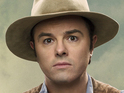 Seth MacFarlane's new trailer debuts during the Super Bowl pre-game.