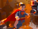 Animated movie tips its hat to the Man of Steel promo.