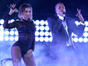 Beyoncé and Jay-Z perform 'Drunk in Love' at the Grammy Awards 2014