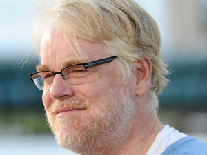 """Phillip Seymour Hoffman arrives at the premiere of Columbia Pictures' """"Moneyball"""" at the Paramount Theatre of the Arts on September 19, 2011 in Oakland, California."""