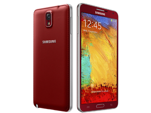 Samsung Galaxy Note 3 in Merlot Red