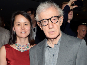 Woody Allen and wife Soon Yi Previn