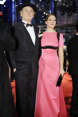 'The Grand Budapest Hotel' film premiere at the 64th Berlinale International Film Festival, Berlin, Germany - 06 Feb 2014 6 Feb 2014 Bill Murray and Lea Seydoux