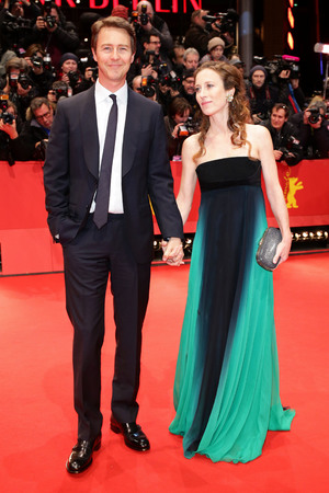 'The Grand Budapest Hotel' film premiere at the 64th Berlinale International Film Festival, Berlin, Germany - 06 Feb 2014 Edward Norton and Shauna Robertson