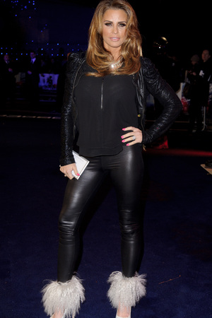 'Robocop' World Film Premiere, London, Britain - 05 Feb 2014 Katie Price 5 Feb 2014