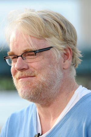 "Phillip Seymour Hoffman arrives at the premiere of Columbia Pictures' ""Moneyball"" at the Paramount Theatre of the Arts on September 19, 2011 in Oakland, California."