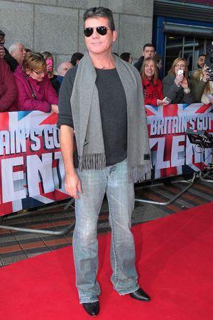 'Britain's Got Talent' TV show auditions, Birmingham, Britain - 02 Feb 2014 Simon Cowell 2 Feb 2014