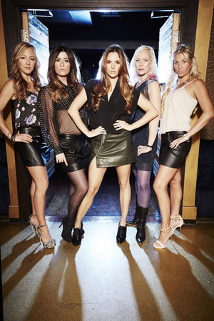Girl Thing pose for The Big Reunion