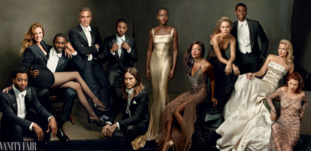 Chiwetel Ejiofor, Naomie Harris, Idris Elba, Lupita Nyong'o, Hollywood issue