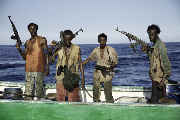 Barkhad Abdi in Captain Phillips