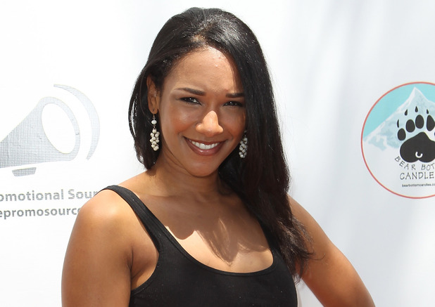 Candice Patton at the Red Carpet Events LA Teen Choice Style Lounge