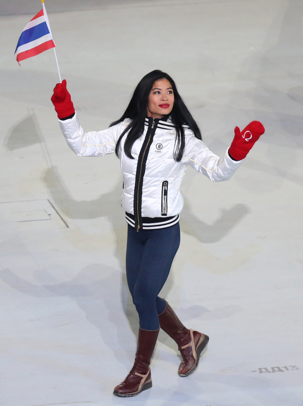 Vanessa Mae during the Opening Ceremony for the 2014 Sochi Olympic Games at the Fisht Olympic Stadium, near Sochi