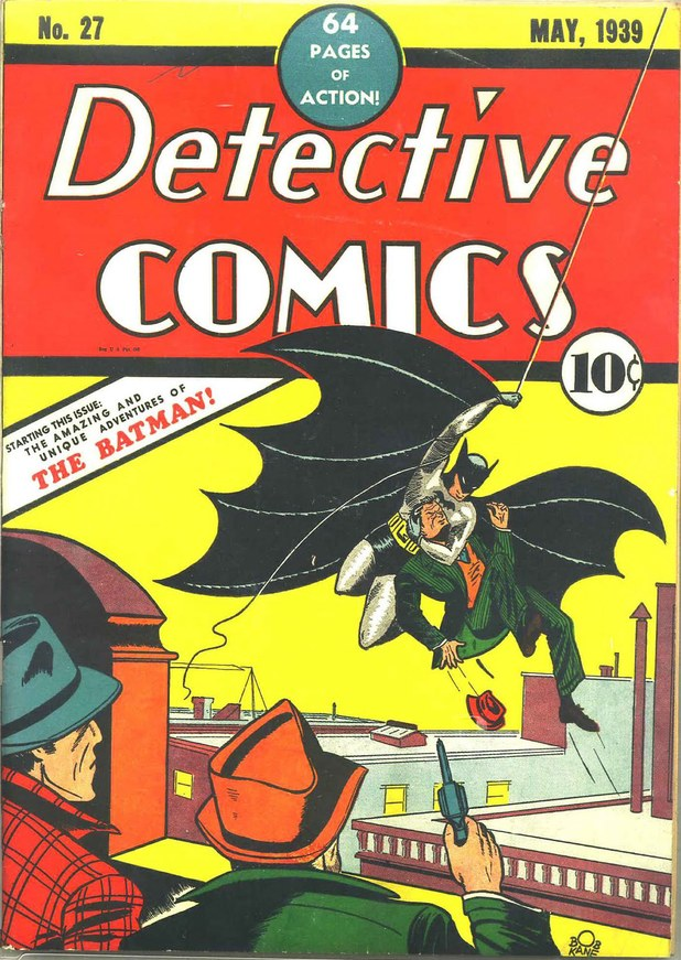 Batman's debut in Detective Comics #27
