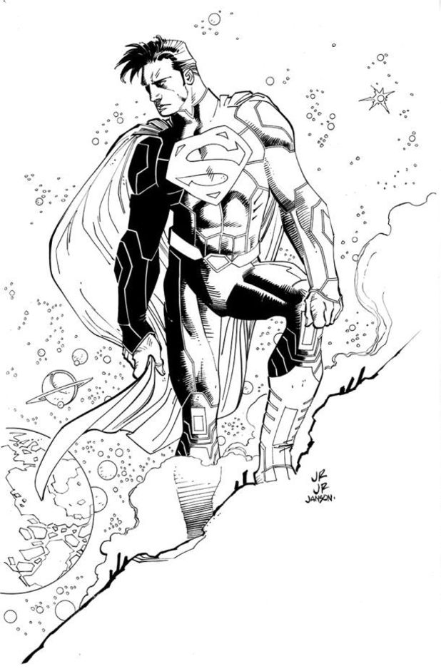 John Romita Jr Superman