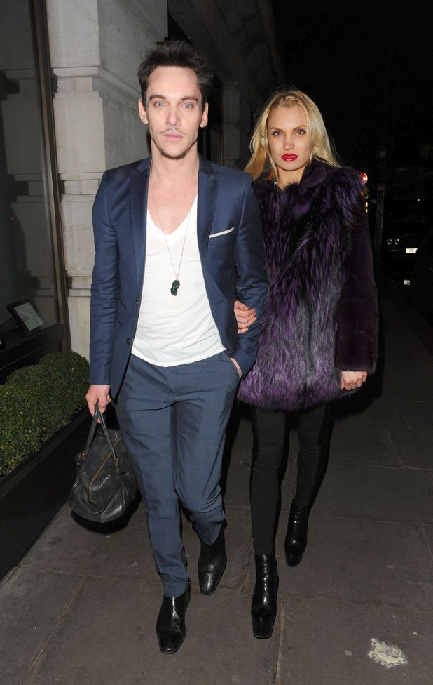 Jonathan Rhys Meyers and Marinika Smirnova