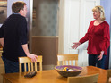 Jane clashes with Ian when she arrives back on Albert Square.
