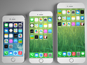 The concepts show the iPhone with 4.7-inch and 5.5-inch screens