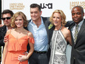 The cast of Psych at the USA Upfront Presentation, New York