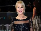 Watch Dame Helen Mirren accept an award on helium