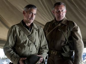 George Clooney, Hugh Bonneville The Monuments Men