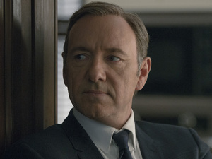 Kevin Spacey & Robin Wright in House of Cards season 2