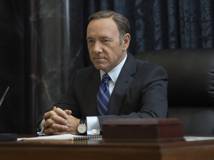 Kevin Spacey in House of Cards season 2