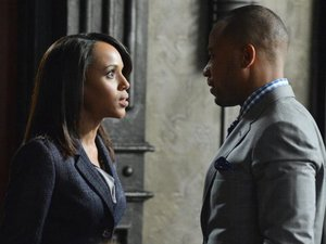 Olivia and Harrison in Scandal