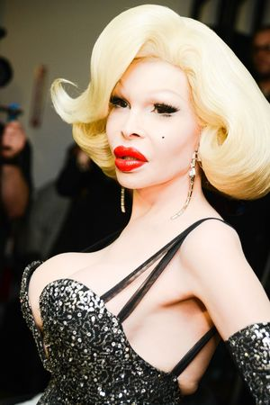 The Blonds Show, Autumn Winter 2014 Mercedes-Benz Fashion Week, New York, America - 12 Feb 2014 Amanda Lepore