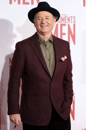 'The Monuments Men' film premiere, London, Britain - 11 Feb 2014 Bill Murray