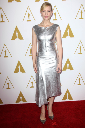 Cate Blanchett 86th Annual Academy Awards Nominee Luncheon, Los Angeles, America - 10 Feb 2014